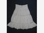 Bazar.Vylepeno.cz - Dámská sukně – bílá