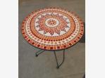 Bazar.Vylepeno.cz - Kulatý stůl s mozaikou