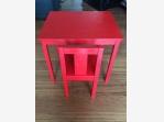 Bazar.Vylepeno.cz - Červený stolek a židlička