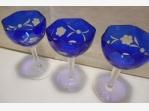 Bazar.Vylepeno.cz -  Modrá likérová sklenice – 3