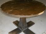 Bazar.Vylepeno.cz - Dřevěný stůl kulatý 100cm