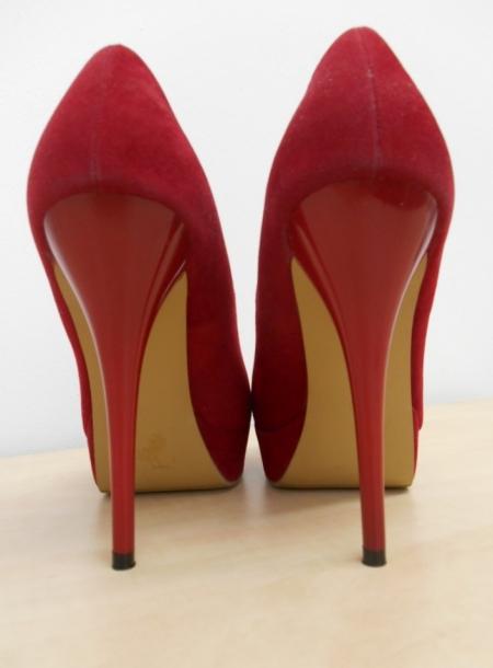9950ff11849c Vylepeno.cz - Dámské červené boty