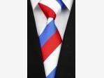 Bazar.Vylepeno.cz - Luxusní trikolor kravata