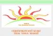 Bazar.Vylepeno.cz - Certifikovaný kurz Thai yoga ma