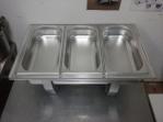 Bazar.Vylepeno.cz - Chafing dish 3 x GN 1/3