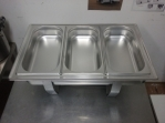 Bazar.Vylepeno.cz - Chafing dish 3 x gastro nádoba